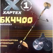 Бензокоса Хартех БК 4400 3 ножа SwissNox + леска фото