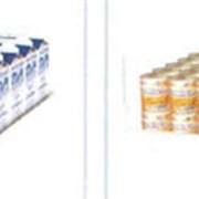 Открытая упаковка для молочной продукции фото