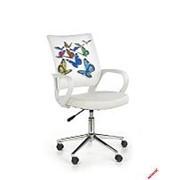Кресло компьютерное Halmar IBIS BUTTERFLY (разноцветный) фото