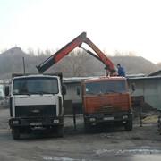 Услуги крана-манипулятора по Донецку. фото