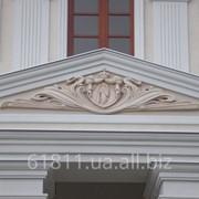 Изготовление и монтаж архитектурных элементов из пенополистирола фото