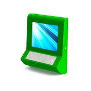 Информационная панель моноблок с клавиатурой фото