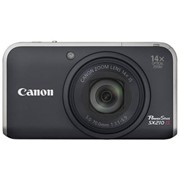 Фотоаппараты, Canon PowerShot SX210 Black фото