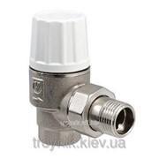 Клапан термостатический повышенной пропускной способности угловой 1/2 дюйм Valtec VT.033.N, арт.18139 фото