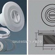 Форсунка для пылесоса из ABS, нарезная резьба 2, внутренний диаметр 50 мм фото