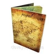 Оригинальная обложка для паспорта Карта фото