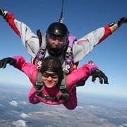 Прыжки с парашютом в тандеме с инструктором фото