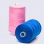 Нитки швейные полиэфирные штапельные фото