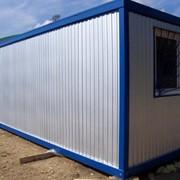 Производство продажа и аренда блок контейнеров, бытовок. фото