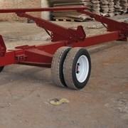Одноосная тележка для зерновых жаток от 6 до 9 м фото