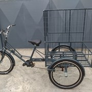 Грузовой трехколесный велосипед для бизнеса фото