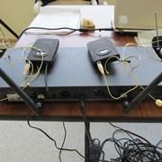 Аренда Радиосистемы с двумя головными гарнитурами  фото