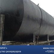 Резервуар стальной для дизельного топлива фото