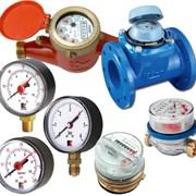 Cчетчики воды, технические манометры и термометры фото