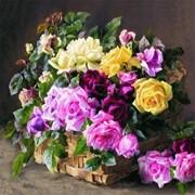 Декупаж салфетка Цветы фото