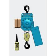 Цепной электротельфер серии ВB Подвешенный на крюке фото