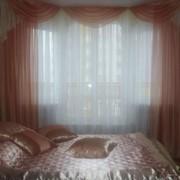 Пошив штор, декор окна фото