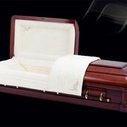 Элитный гроб Виктория фото