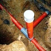 Прокладка наружных сетей канализации. У нас вы можете заказать услуги по прокладке наружных сетей канализации. Прокладка наружных сетей канализации быстро качественно и надежно в городе Житомир. фото