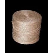 Шпагат льнопеньковый армированный (табачный) Ø2-3 мм фото
