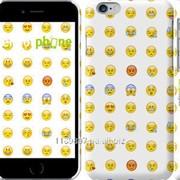 Чехол на iPhone 6 Смайлики 2840c-45 фото