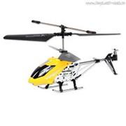 """Вертолет Mioshi Tech """"IR- 107, желтый"""" (и/к, 3,5 канала, гироскоп, длина 22 см, USB) фото"""