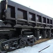 Железнодорожный вагон - самосвал Думпкар 2вс-105 фото