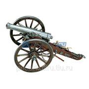 Пушка декоративная, США 1861г. Гражданская война фото
