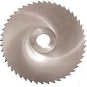 Фреза дисковая 3-х (встав.нож.) сталь Р6М5 ГОСТ размер 100х25 фото