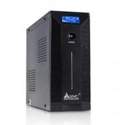 W-1500 W-серия SVC ИБП (UPS) 1500VA/900W Line-Interactive, Чёрный фото