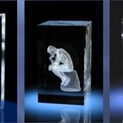 Кубки призовые из кристалла фото