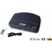 Конвертер HDMI Switcher 3x1 With Extender IR фото