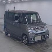 Микровэн HONDA N BOX CUSTOM кузов JF1 класса минивэн модификация G L PACKAGE гв 2015 пробег 12 т.км серый фото