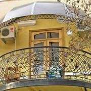 Перила балконные фото