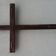 Хрест деревяний надгробний фото
