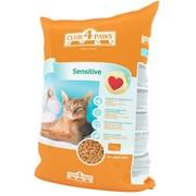 Сухой корм для котов с чувствительным пищеварением 3кг - Клуб 4 лапы фото