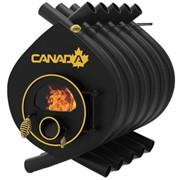 Печь Canada 03 классик со стеклом или перфорацией фото