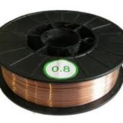 Проволока зварювальний омед. 1,0мм(кг) фото