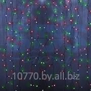"""Гирлянда """"Светодиодный Дождь"""" 1,5х1м, свечение с динамикой, прозрачный провод, 220В, диоды МУЛЬТИКОЛОР, NEON-NIGHT фото"""