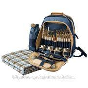 Рюкзак для пикника на 4 персоны. 12 приборов фото