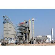 Стационарный асфальтобетонный завод LBG 2000: фото