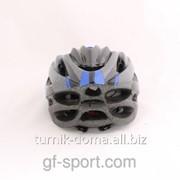 Шлем защитный синий фото