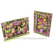 Фломастеры RenArt Paintastics Цветы и бабочки 3D PT3102 фото