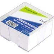 Болк для записей 90*90*45мм, белый, в пластиковом боксе. 500 листов фото