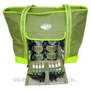 Сумка-кулер для пикника на 4 персоны (12 столовых приборов) фото