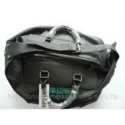 Спортивная кожаная сумка DIRK BIKKEMBERGS Sport Couture фото