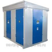 Трансформаторная подстанция киоскового типа наружной установки марки КТП-ПВ (К)-25...1000/10(6)/0,4 фото