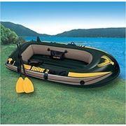 Лодка Seahawk 200+весла и насос, 236х114х41 см фото