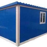 Вагончик 6м, мобильные дома в Казахстане (модульное здание) бытовка жилая, Домики вагончики, бытовки фото