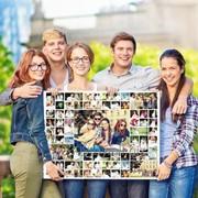 Фотоколлажи на холсте фото